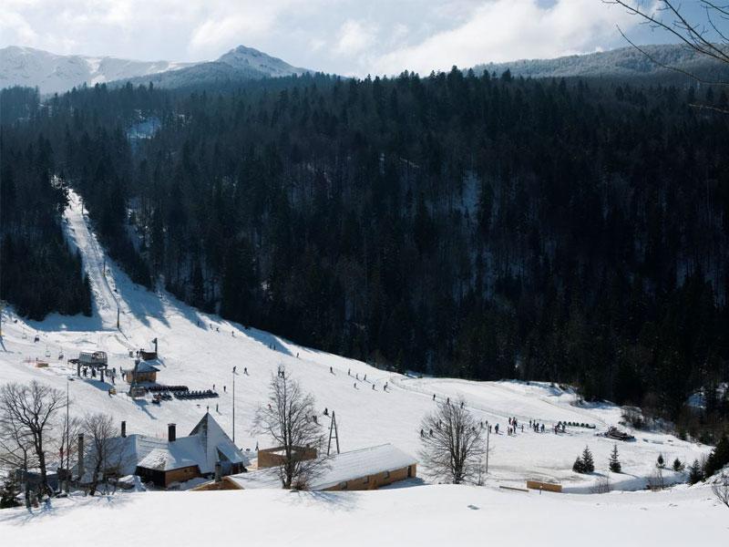 Горнолыжный центр в Колашине на горе Бьеласица