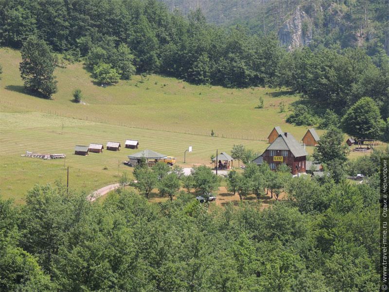 Для туристов построены кампусы в самых красивых местах Черногории