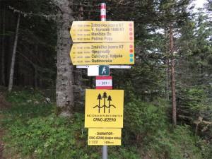 Активный отдых в горах Черногории