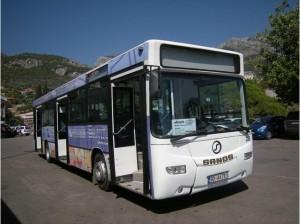 Общественный транспорт в Черногории