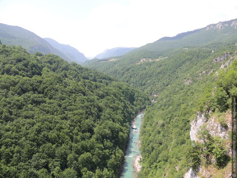 Каньон реки Тара - самый глубокий в Европе