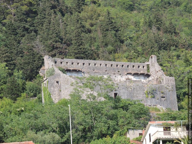 Остатки оборонительных сооружений города