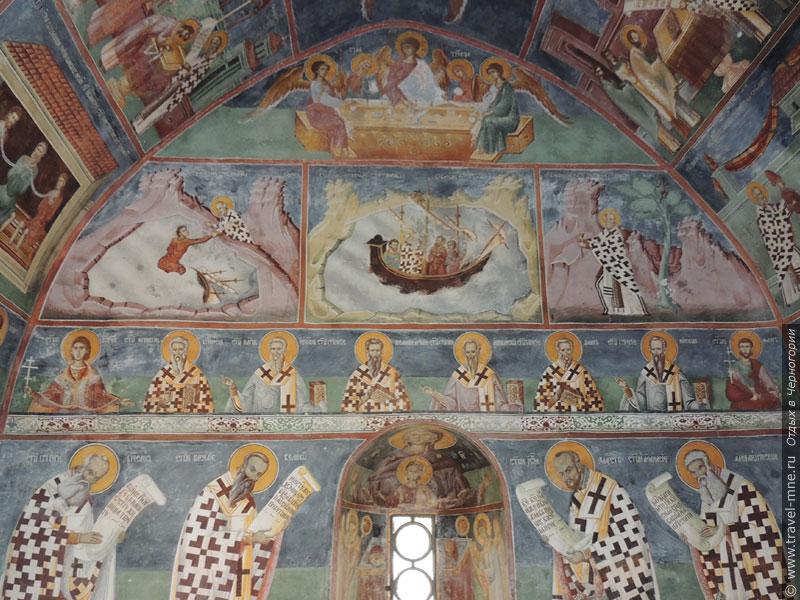 Фресковая роспись церкви Святого Николая