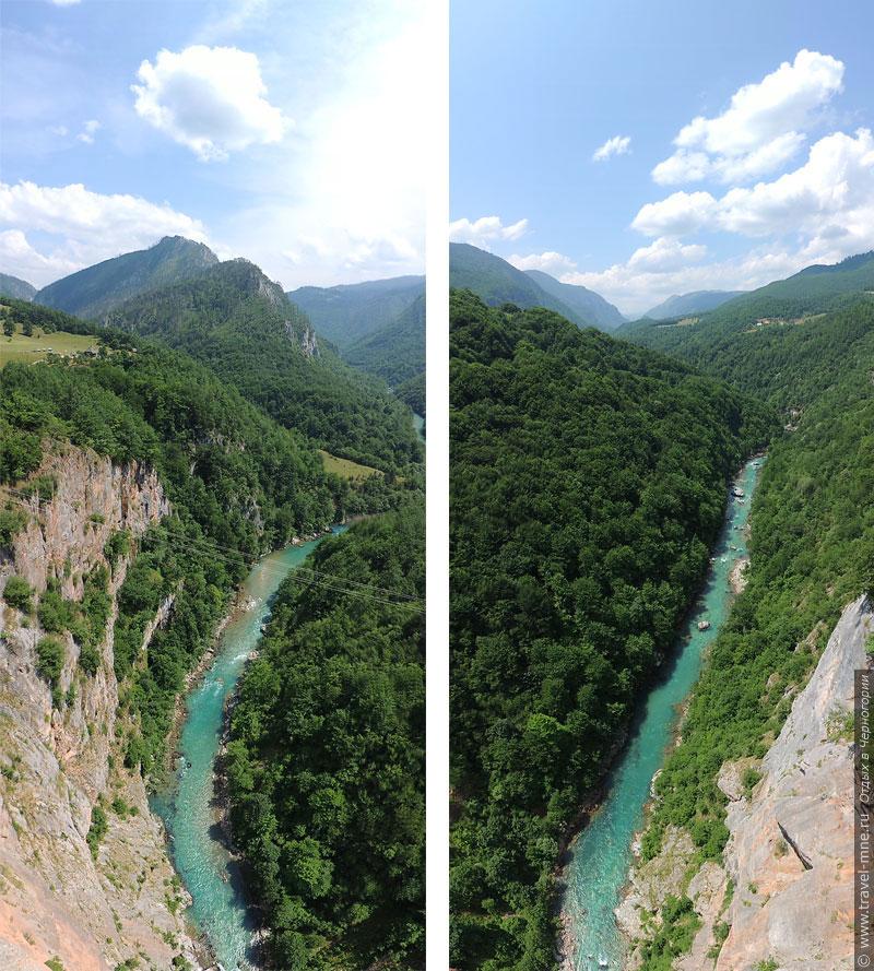 С обеих сторон моста открываются шикарные панорамы