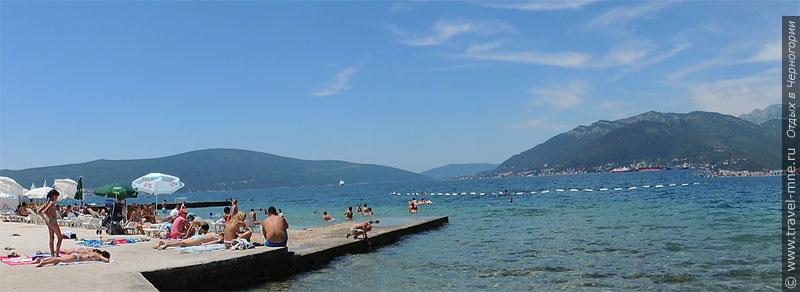 Большинство туристов едет в Черногорию на море