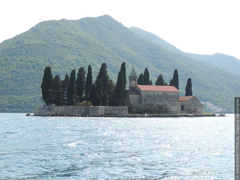 Аббатство на острове Святого Георгия было построено в IX веке