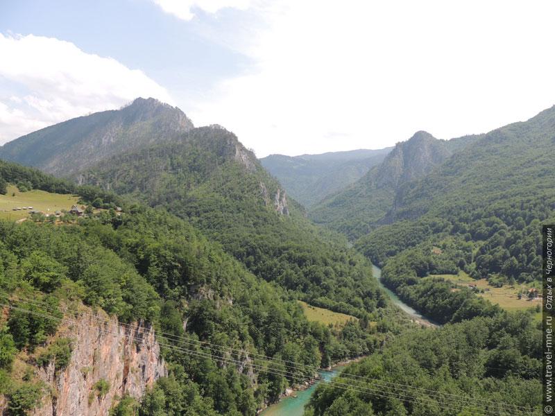 Каньон реки Тара - важная часть Национального парка Дурмитор