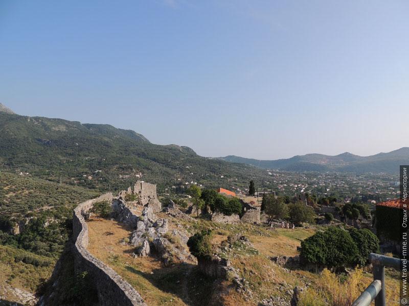 Часть крепостной стены Старого Бара