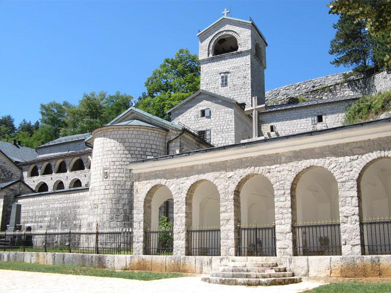 Цетинский монастырь - основная резиденция главы Сербской Православной Церкви