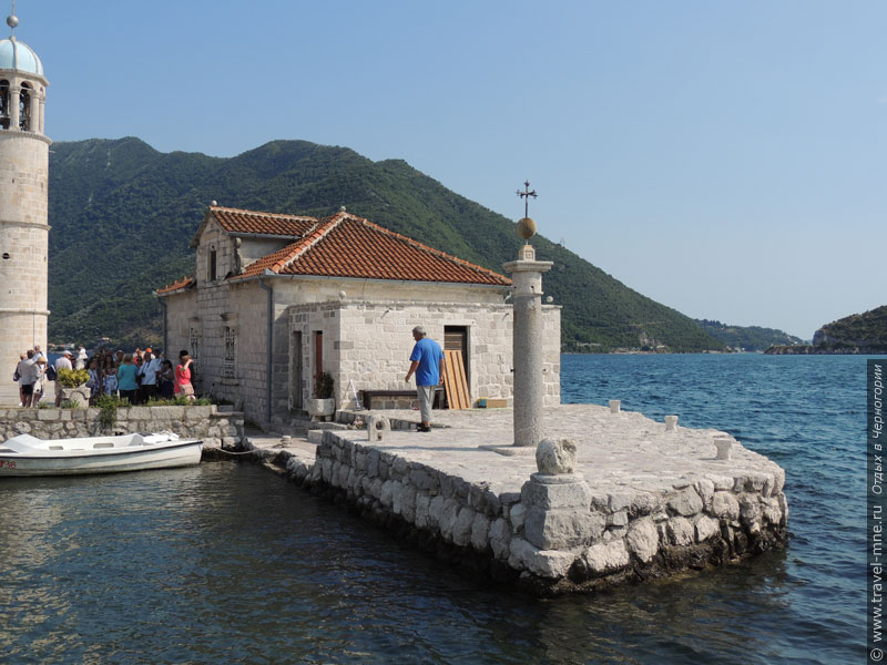 Место, где располагался риф, на котором была найдена икона Богоматери