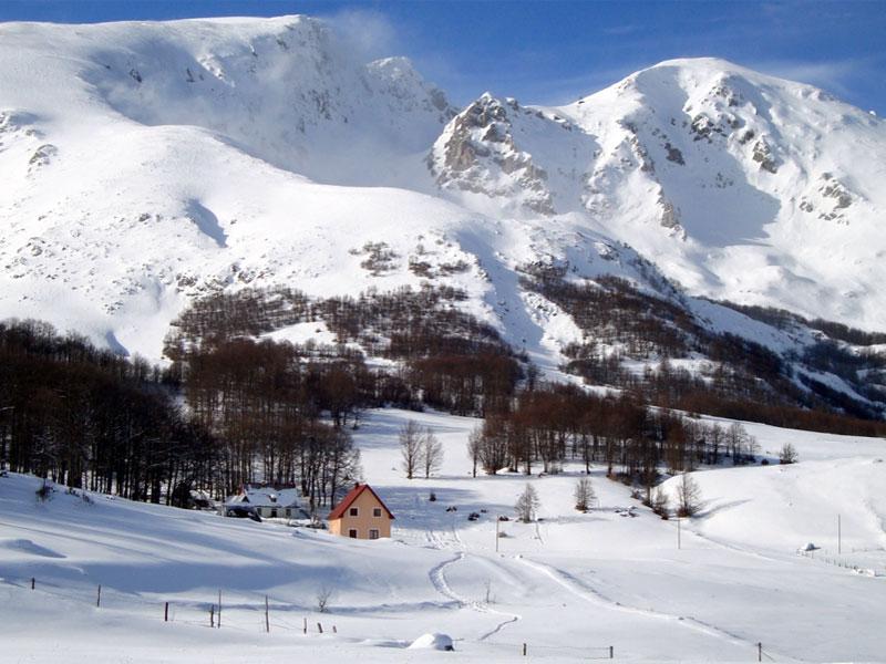 Горнолыжный курорт в Жабляке поражает красотой окружающего национального парка