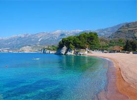 Пляжи в Черногории