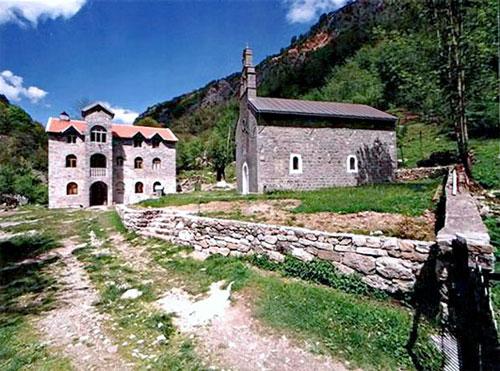 Церковь монастыря Биела посвящена Святому Георгию
