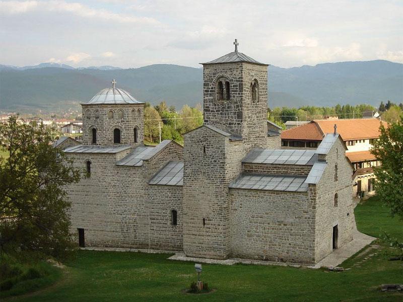 Монастырская церковь Святого Георгия была построена в первой половине XIII века