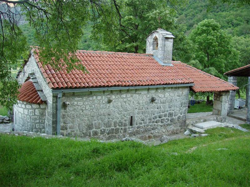 Церковь монастыря Добрска Челия посвящена Успению Пресвятой Богородицы