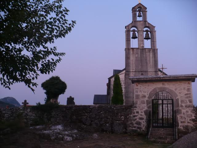 Церковь монастыря Обод посвящена Святому Николаю