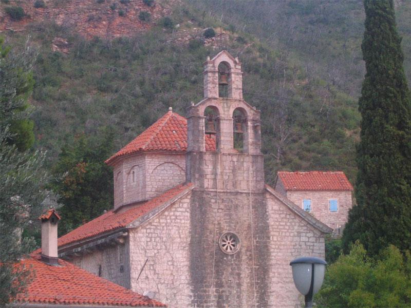 Церковь Святого Николая Чудотворца — главный храм монастырского комплекса Прасквица