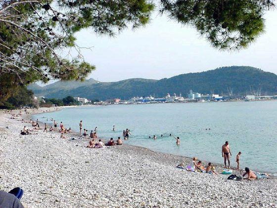 Пляж Жукотрлица / Žukotrlica plaža