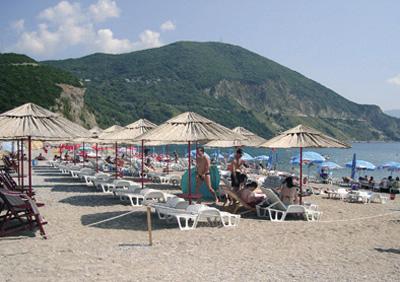 Пляж Blue Beach