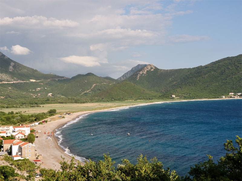 Пляж Булярица / Buljarica plaža