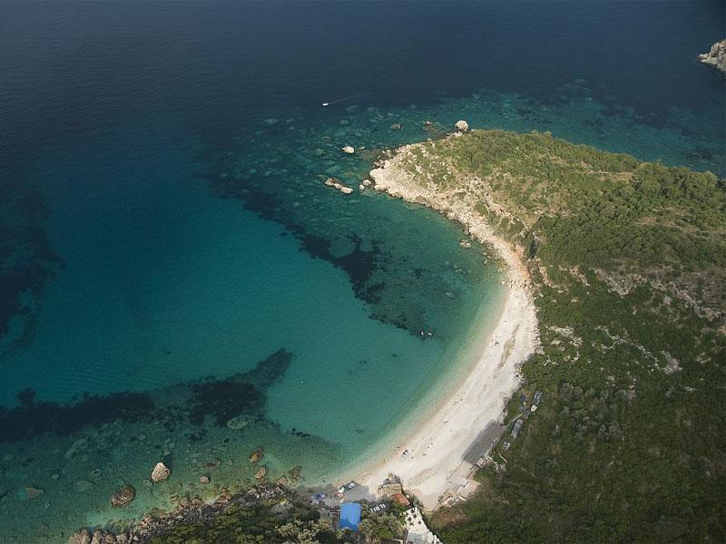 Пляж Дробничи / Drobni pijesak plaža