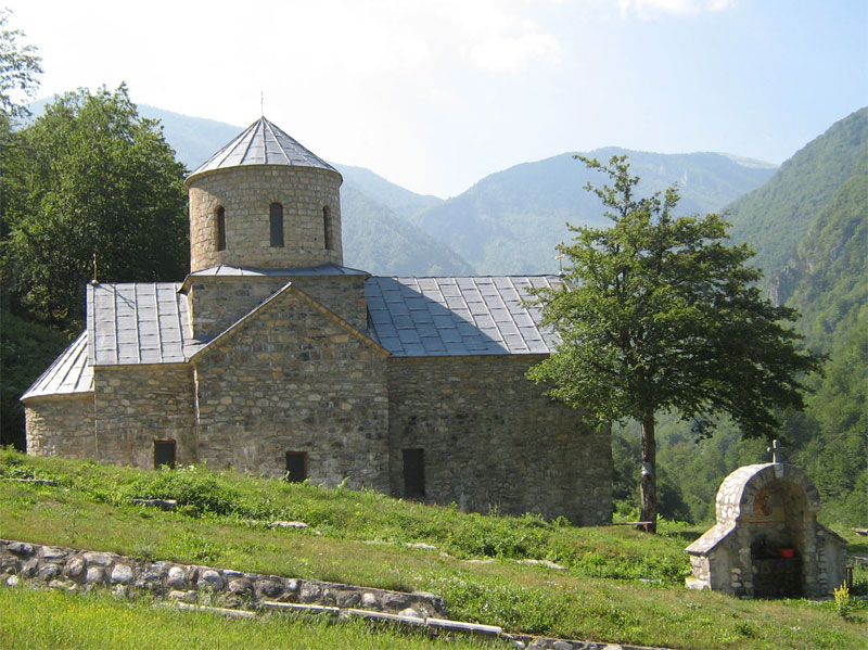 Монастырская церковь посвящена Святой Троице