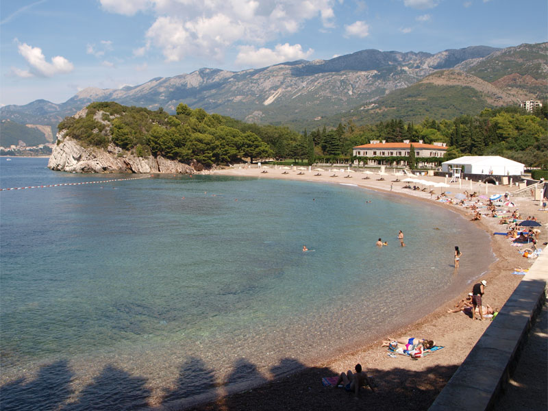 Пляж Милочер / Miločer plaža / Kraljeva plaža