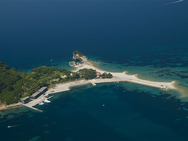 Пляж на острове Святого Николая / Sveti Nikola plaža