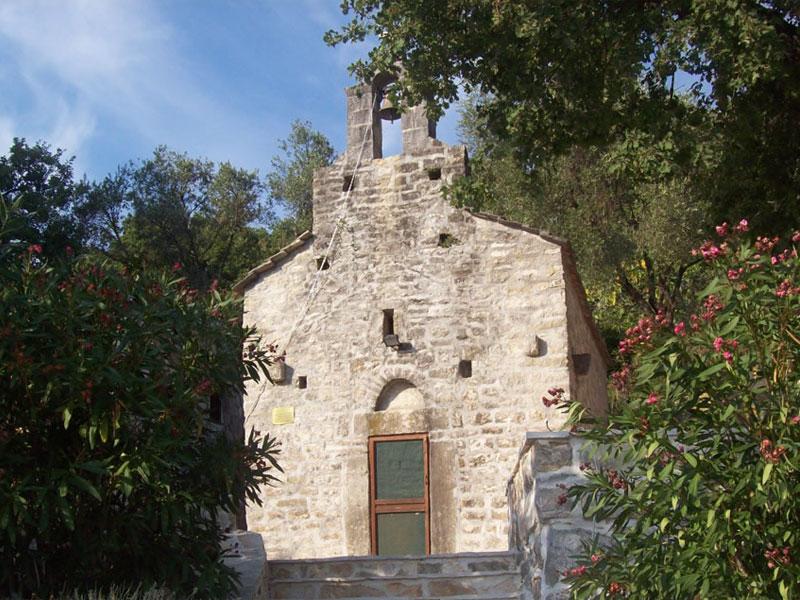Главная церковь монастыря Войнич посвящена Святому Дмитрию