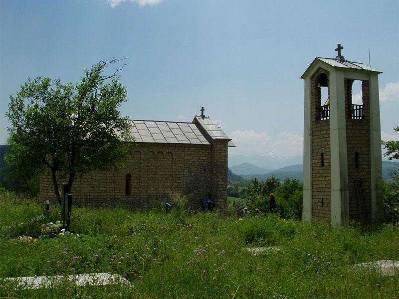 Монастырская церковь Вознесения Пресвятой Богородицы с колокольней