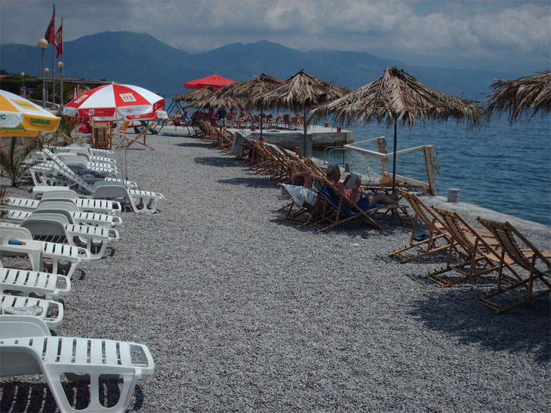Пляж Дженовичи / Đenovići plaža