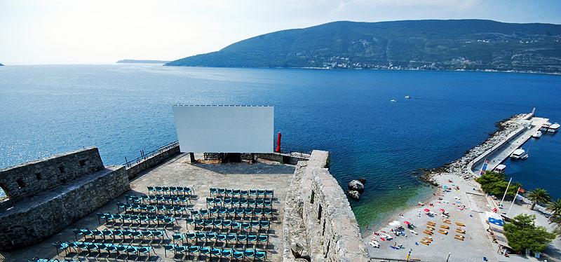 Летний кинотеатр Морской крепости
