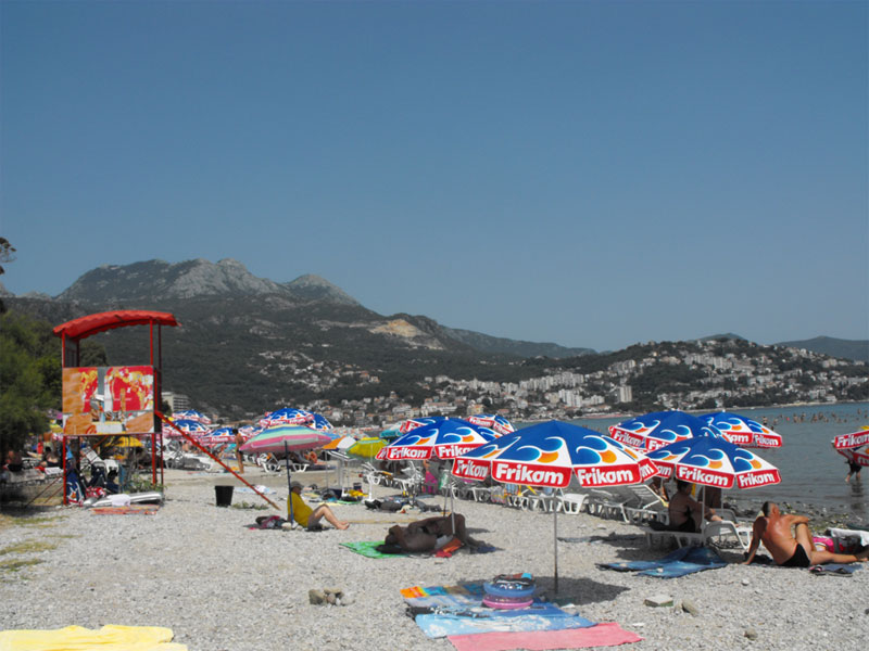 Пляж виллы Галеб / Vila Galeb plaža