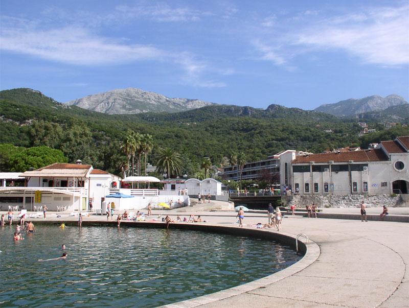 Пляж отеля Игало / Kupalište hotela Igalo