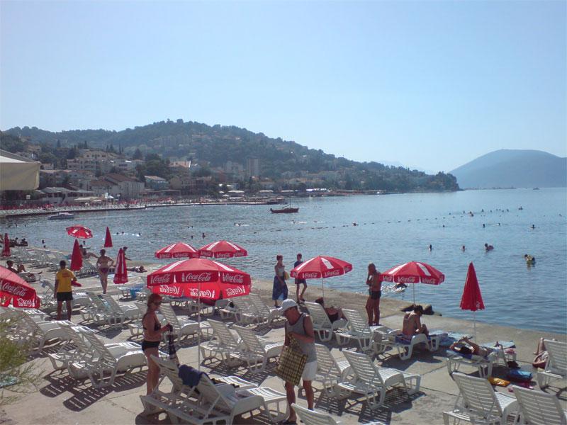 Пляж отеля Тамарис / Kupalište hotela Tamaris