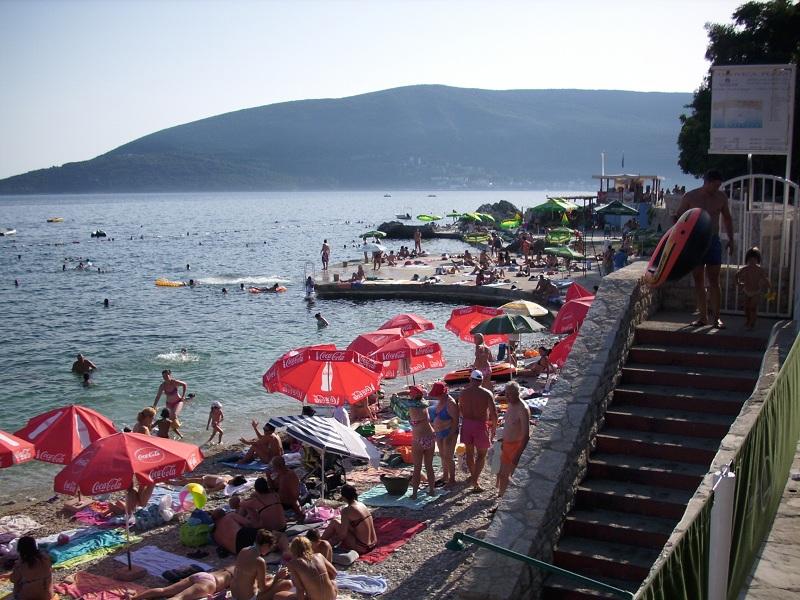 Пляж Вилла Галия / Villa Galija plaža