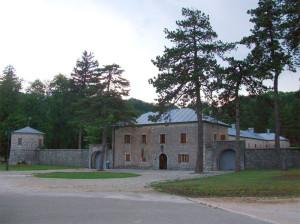 Дворец Бильярда в Цетине