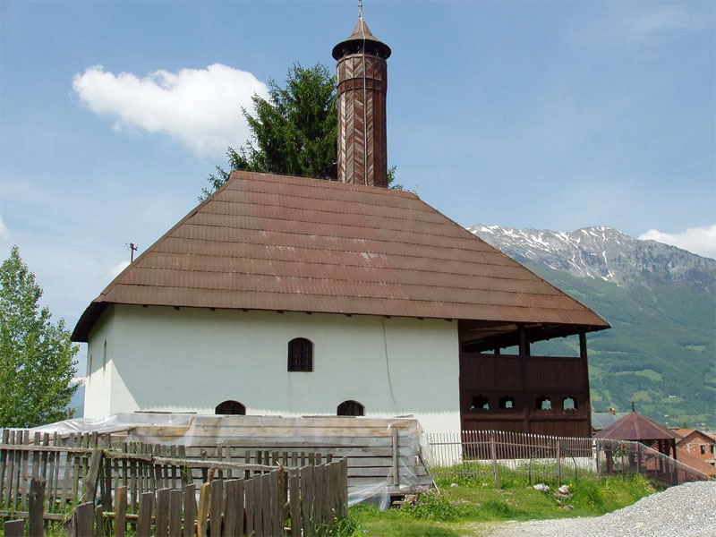Царская мечеть ведет свою историю с XV века
