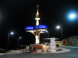 Башня на горе Дайбабе