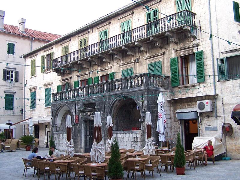 Дворец Пима считается одним из самых красивых в Старом Которе