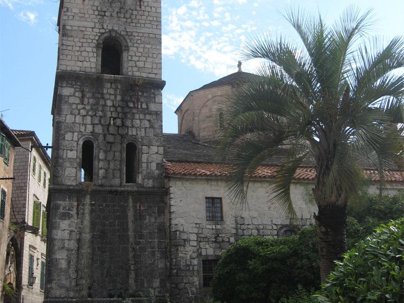Высокая колокольня была пристроена к церкви Святой Марии уже в XVIII веке