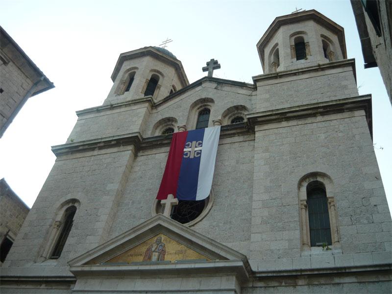 Никольский храм - самая крупная православная церковь в Которе