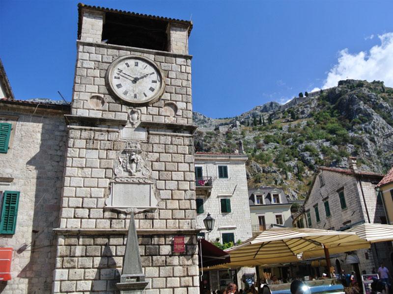 Часовая башня в Которе