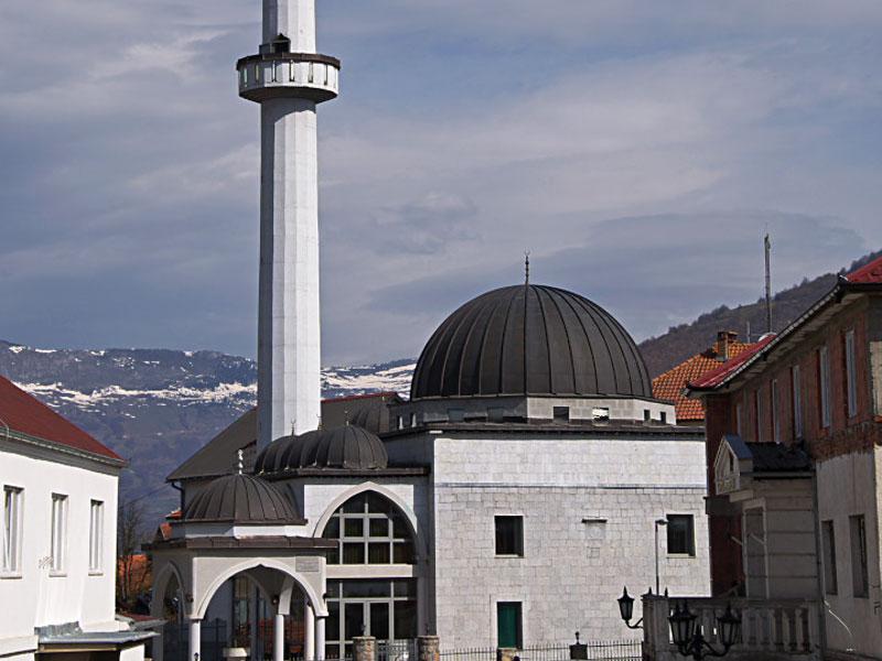 Султанская мечеть - главный мусульманский центр в Плаве