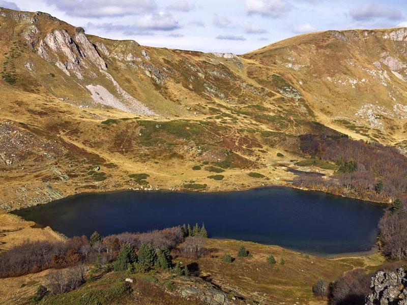 Озеро Пешица - одно из самых высокогорных в Черногории