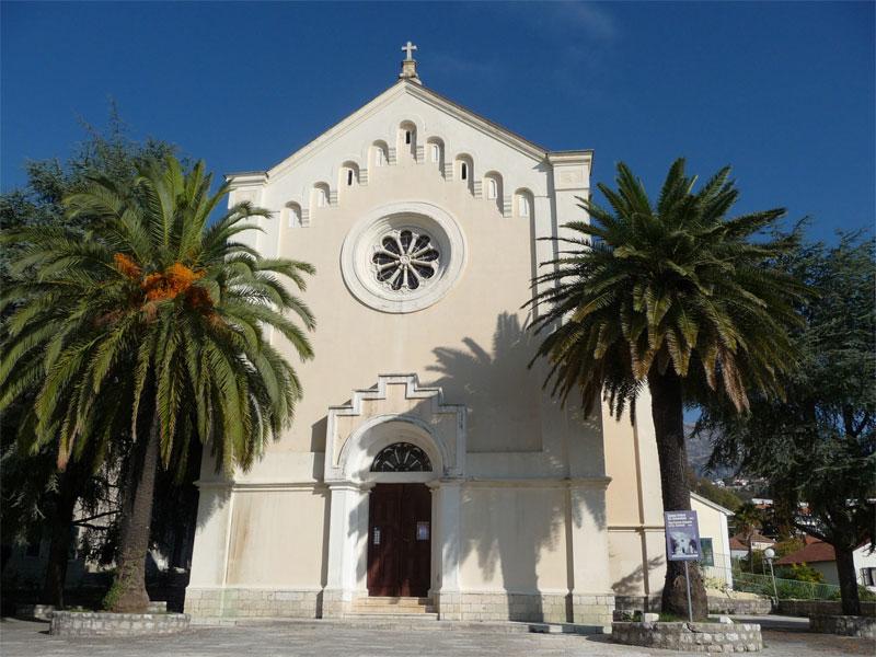 Современная церковь Святого Иеронима была построена на месте более старого храма XVII века