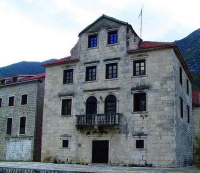 Дворец Бескуча в Прчани считается типичным дворцом в стиле барокко