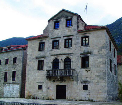 Дворец Бескуча в Прчани