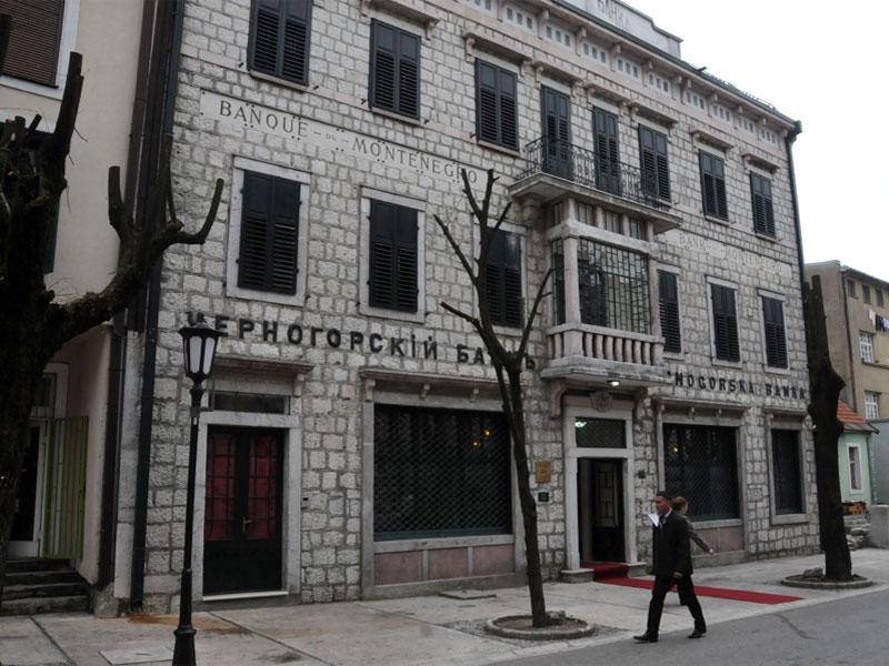 Музей денег интересен и своим зданием Черногорского банка - ценным памятником архитектуры