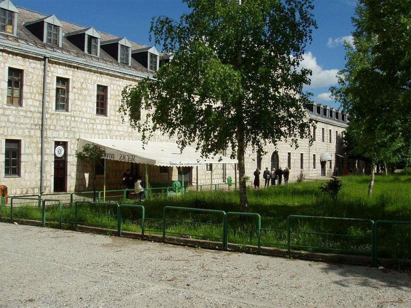 Здание бывшей казармы в Цетине сегодня стало спортивным объектом